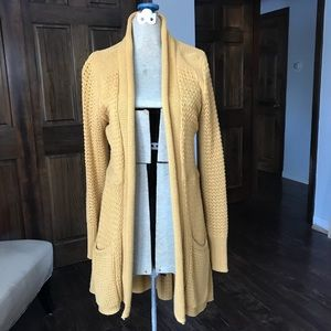 Anthropologie Angel of the North Cardigan, sz L